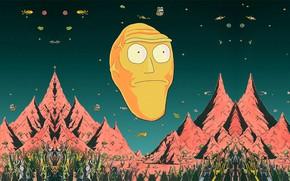 Picture Mountains, Smith, Cartoon, Sanchez, Rick, Rick and Morty, Rick and Morty, Morty, Rick Sanchez, Morty …