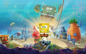 Picture the game, the bottom of the sea, Sponge Bob Square Pants, SpongeBob SquarePants: Battle for …
