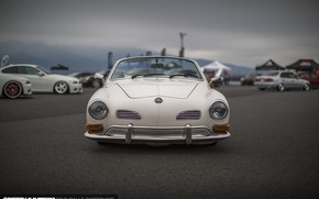 Picture Volkswagen, Stance, Vehicle, Karmann Ghia