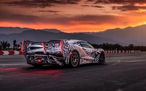 Picture McLaren, prototype, film, hypercar, double, tests, Sabre, Senna, MSO, 2021, 4.0 L., V8 twinturbo, McLaren …