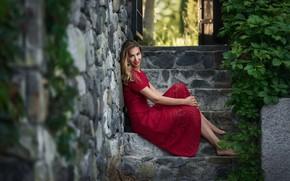 Picture smile, model, Anastasia Barmina