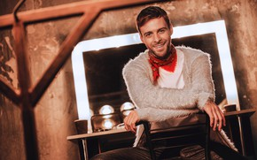 Picture look, smile, male, Max Barskih