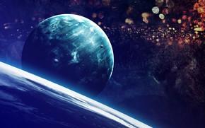 Picture Planet, Space, Planet, Planets, Art, Space, Art, Satellite, Planet, Universe, Satellite, Satellites, Vadim Sadovski, by …