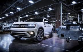 Picture white, lamp, Volkswagen, 2018, Atlas, R-Line