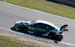 Picture coupe, BMW, track, side, M4 DTM