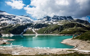 Picture Nature, Mountains, Austria, Alps, Lake
