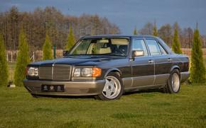 Picture Mercedes-Benz, S-Class, W126, 500SE