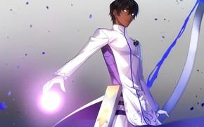 Picture magic, anime, art, guy, Archer, Fate/Grand Order