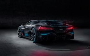 Picture background, rear view, hypercar, Divo, Bugatti Divo, 2019 Bugatti Divo