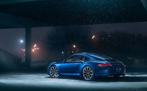 Picture Winter, Auto, 911, Porsche, Snow, Machine, Porsche 911, Carrera, Porsche 911 Carrera S, Carrera S, …
