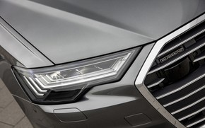 Picture Audi, headlight, 2018, universal, dark gray, A6 Avant