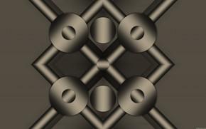Picture background, gradient, figure