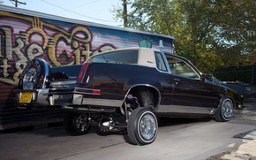 Picture Tuning, Lowrider, Custom, Vehicle, Oldsmobile Cutlass
