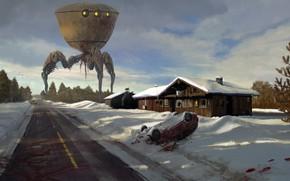 Picture robot, A Quiet Winter, Quiet winter, Ryan Van Dongen