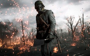 Picture Electronic Arts, Battlefield 1, Battlefield One, game art, 2019, by shadowsix