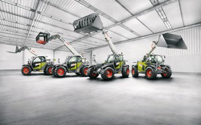 Picture the room, loaders, Scorpion, Claas