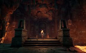 Picture the game, game, fighting game, Darksiders, screenshot, Darksiders III, Darksayders 3