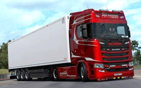 Picture the game, Euro Truck Simulator 2, SCS Software