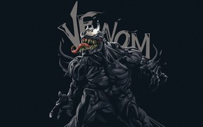 Picture Language, Teeth, Marvel, Venom, Venom, Symbiote, Creatures, Venom Fanart, by Fauzan Destian, Fauzan Destian