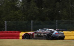 Picture coupe, BMW, the fence, side view, 2019, M6 GT3