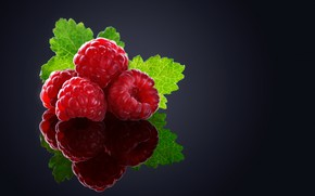 Picture berries, raspberry, background