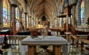 Picture USA, interior, New Jersey, Jersey City, Catholic Church in Jersey, St Anthony Of Padua Roman …