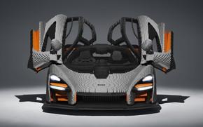 Picture McLaren, front view, Lego, Senna, 2019