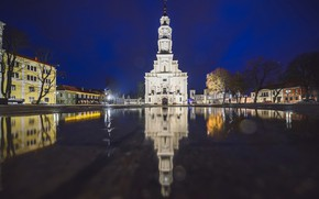 Picture Lithuania, Kaunas, The town hall