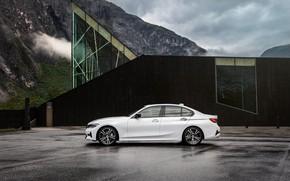 Picture Car, Parking, BMW 3-Series, 2019, Black House