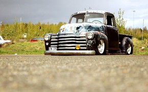 Picture Chevrolet, Truck, Custom, Rat Rod, 3100