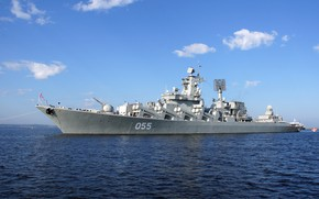 Picture cruiser, rocket, the project 1164, Marshal Ustinov