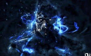 Picture Art, Mortal Kombat, Sub-Zero, Subzero, Andrey VEL Kustarev, by Andrey VEL, Andrey VEL, by Andrey …