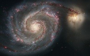 Picture galaxy, The Dogs Of War, Whirlpool, in the constellation
