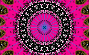 Picture pink, pattern, color, round