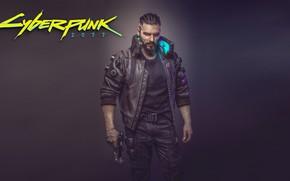 Wallpaper Cyberpunk, Male, Cyberpunk 2077, Concept Art, Video game, 2077, Concept Art, Cyborgs, Cyberpunk, The game, ...