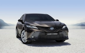 Picture Toyota, Hybrid, Camry, 2019, Toyota Camry Hybrid 2019