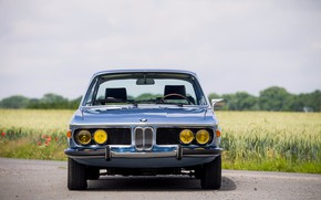 Picture BMW, 1971, Lights, Classic car, Icon, Grille, BMW 3.0 CSi (E9)