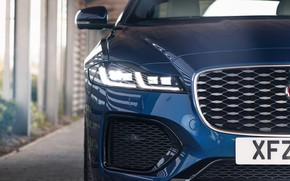Picture Jaguar, before, grille, sedan, bumper, Jaguar XF, 2020, XF