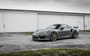 Picture 911, Porsche, Carrera, Turbo, Gray, VAG