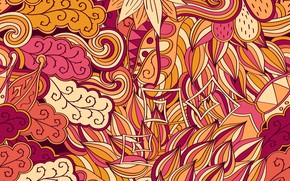 Picture background, texture, background, seamless, Paisley