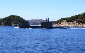 Picture submarine, diesel, uthaug