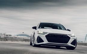 Picture Audi, Clouds, RS6, VAG, Full Matrix LED
