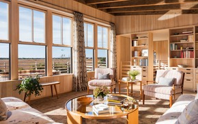 Picture design, style, room, living room, light, инттерьер, modern ranch