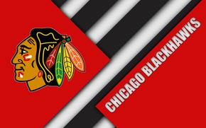 Picture USA, Il, NHL, Chicago Blackhawks, Chicago Blackhawks, hockey club, западная конференция, центральяный дивизион