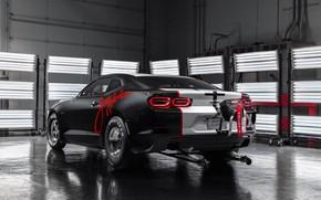 Picture Chevrolet, Camaro, rear view, COPO, 2020, John Force Edition, SEMA 2019