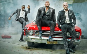 Picture machine, anger, men, crazy, Fast & Furious Presents: Hobbs & Shaw