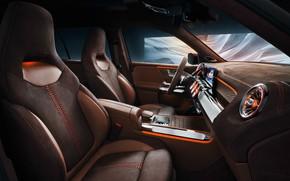 Picture transport, car, Mercedes Benz, salon, Concept GLB