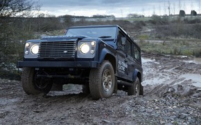 Picture prototype, Land Rover, polygon, Defender, 2013, All-terrain Electric Research Vehicle