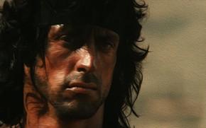 Picture Sylvester Stallone, Rambo, Rambo, Rambo 3