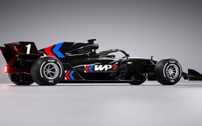 Picture black, race car, Volodymyr Borovkov